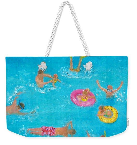 The Swimmers Weekender Tote Bag