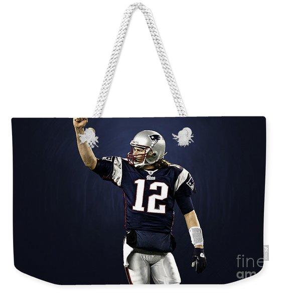Tom Brady Weekender Tote Bag