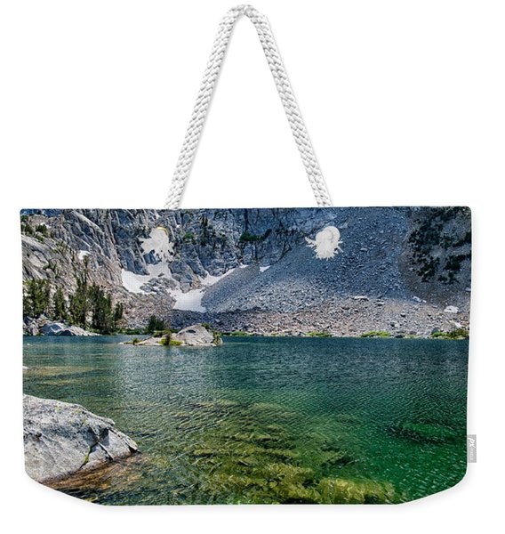 Treasure Lakes Weekender Tote Bag