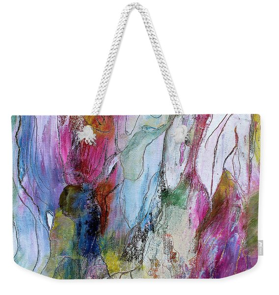 Under The Ice Of Venus Weekender Tote Bag