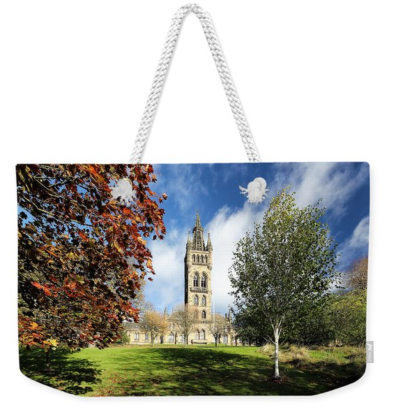 University Of Glasgow Weekender Tote Bag