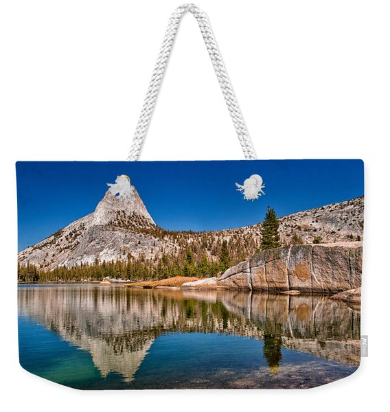 Upper Cathedral Lake Weekender Tote Bag