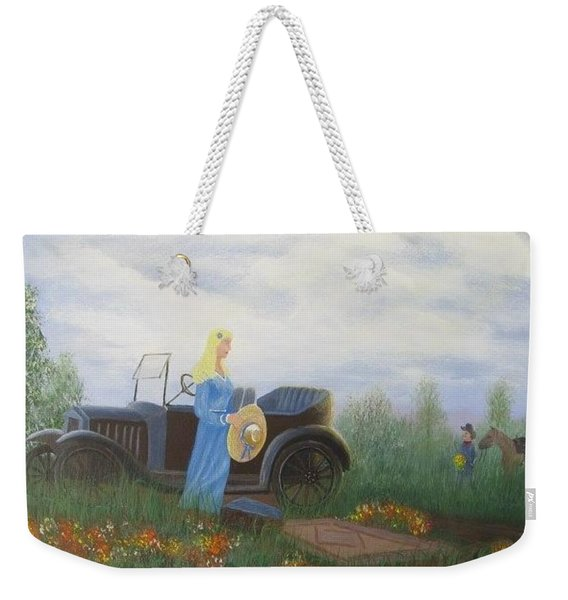 Waiting For A Picnic Weekender Tote Bag