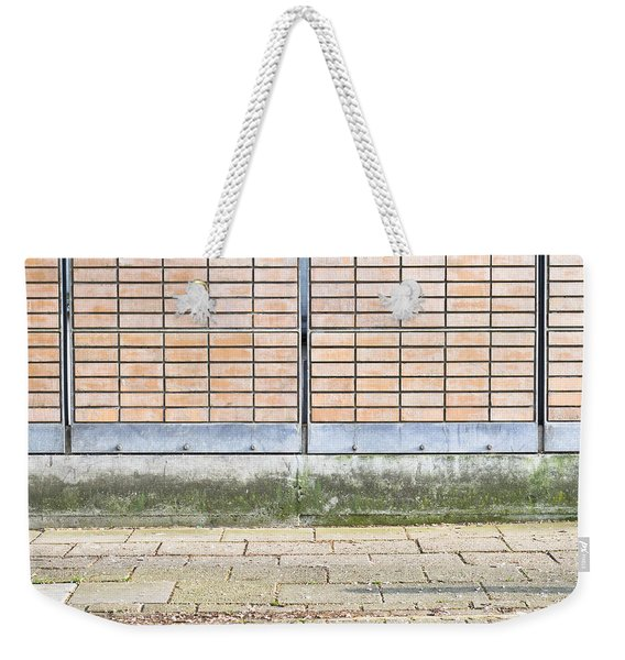 Wall Background Weekender Tote Bag