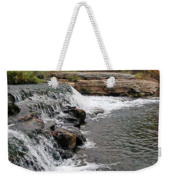 Spring Creek Waterfall Weekender Tote Bag