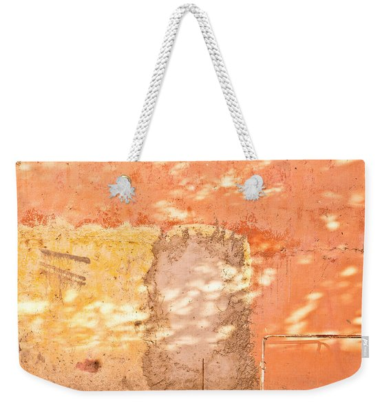 Weathered Wall Weekender Tote Bag