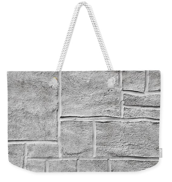 White Brick Wall Weekender Tote Bag