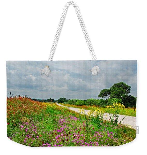Wildflower Wonderland Weekender Tote Bag