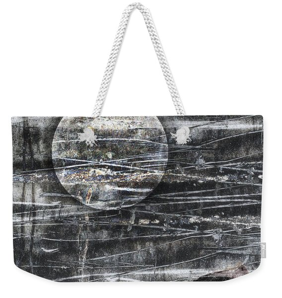 Winter Moon Weekender Tote Bag