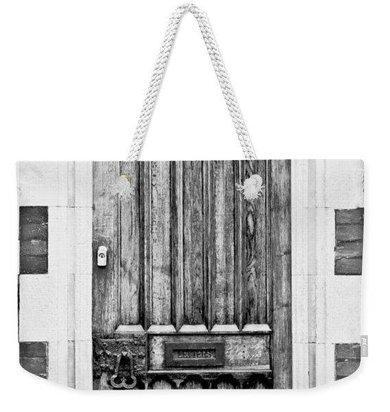 Wooden Door Weekender Tote Bag