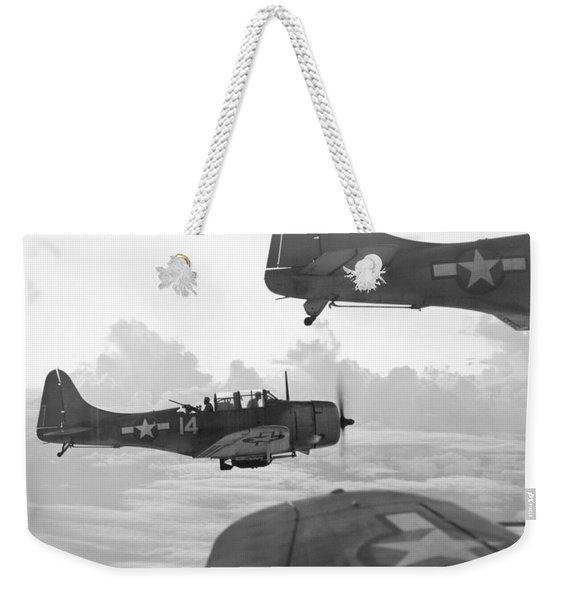 World War II: U.s. Bombers Weekender Tote Bag