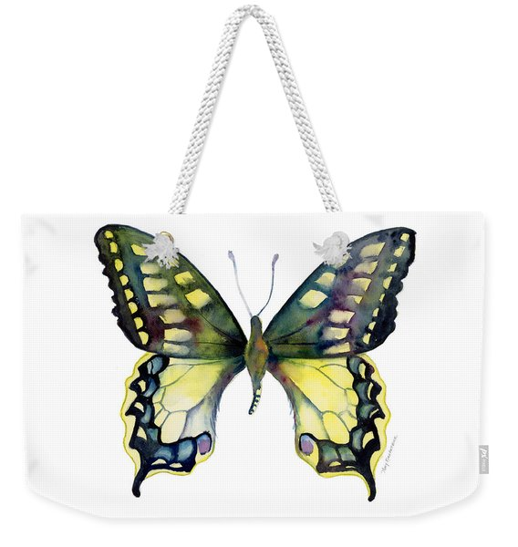 20 Old World Swallowtail Butterfly Weekender Tote Bag