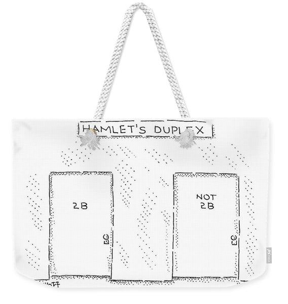 New Yorker August 3rd, 2009 Weekender Tote Bag