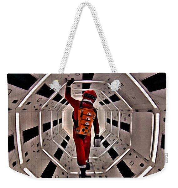 2001 A Space Odyssey Weekender Tote Bag