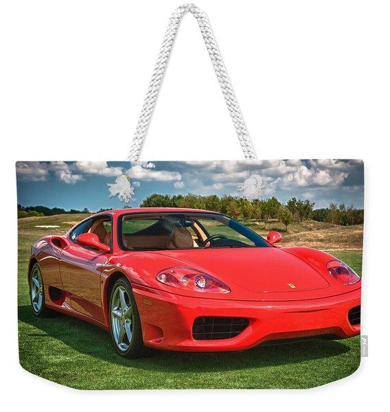 2001 Ferrari 360 Modena Weekender Tote Bag