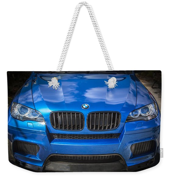 2013 Bmw X6 M Series Weekender Tote Bag