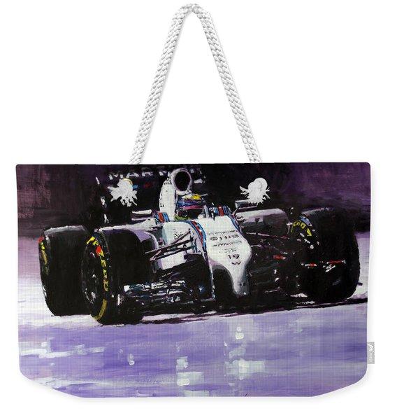 2014 Williams F1 Team Fw 36 Felipe Massa  Weekender Tote Bag
