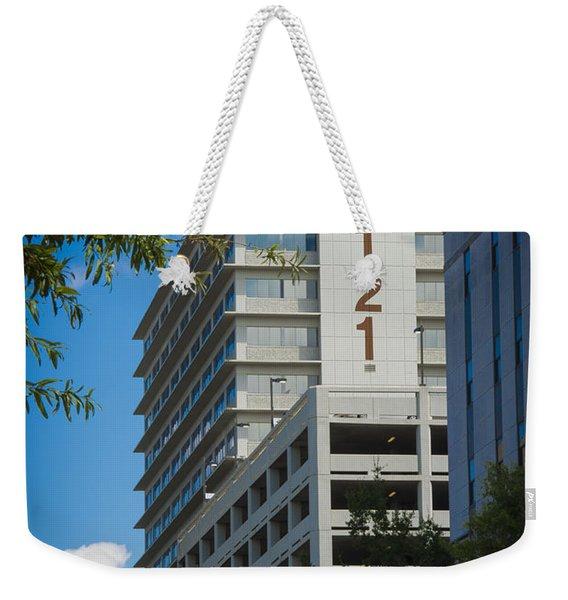 2121 Building Weekender Tote Bag