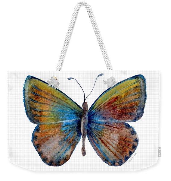 22 Clue Butterfly Weekender Tote Bag