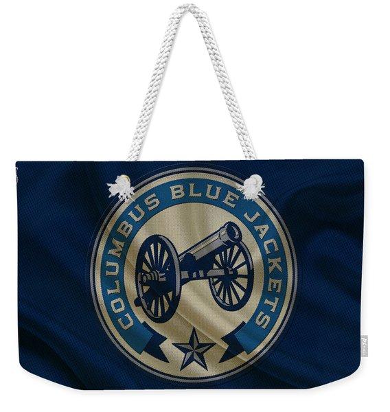 Columbus Blue Jackets Weekender Tote Bag