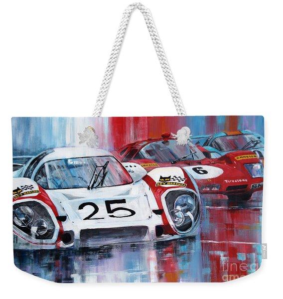 1970 Porsche 917 Lh Le Mans  Elford  Kurt Ahrens Weekender Tote Bag