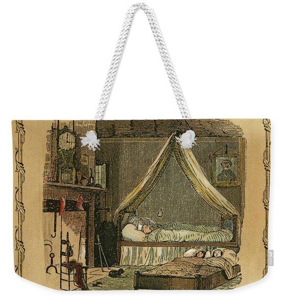 Night Before Christmas Weekender Tote Bag
