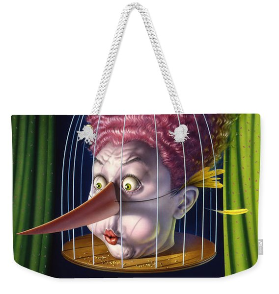 24th Annual Waxdeck's Bird Calling Contest Weekender Tote Bag