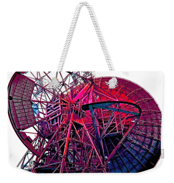 26 East Antenna Abstract 4 Weekender Tote Bag
