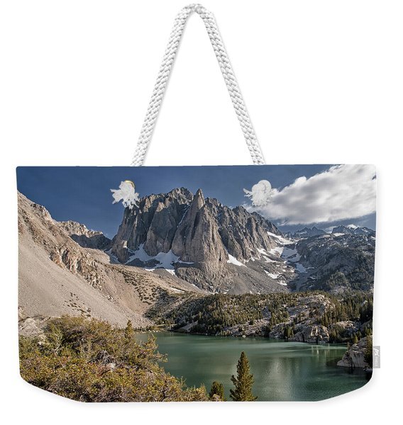 2nd Lake And Temple Crag Weekender Tote Bag