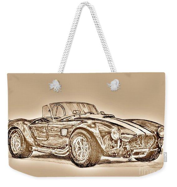 1965 Muscle Car Weekender Tote Bag