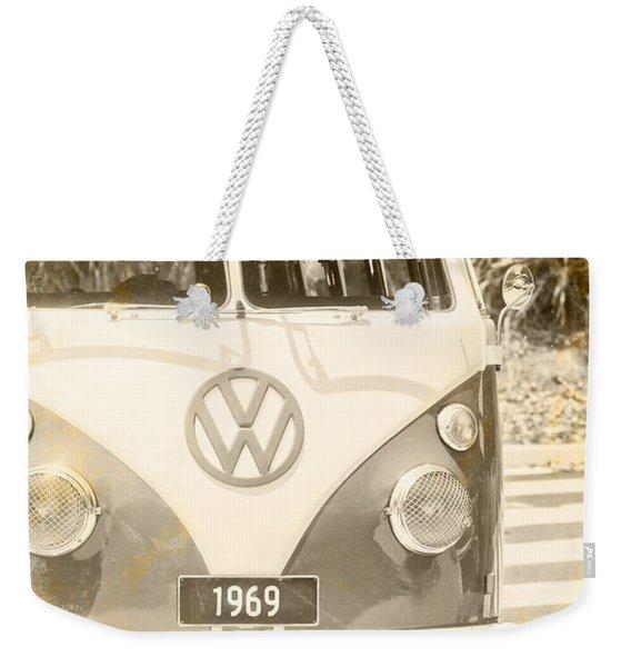 1969 Weekender Tote Bag