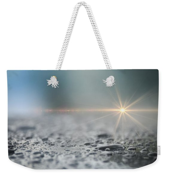 Weekender Tote Bag featuring the photograph After The Rain by Carolyn Marshall