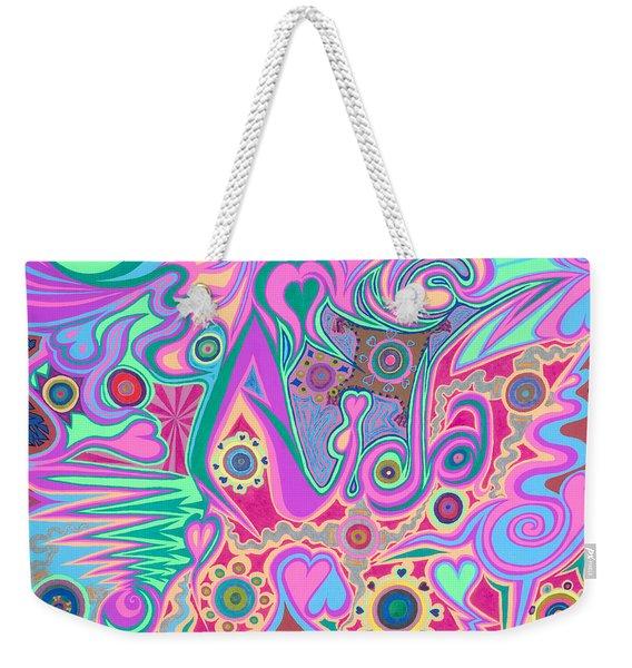 Aida Weekender Tote Bag