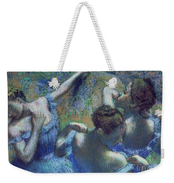 Blue Dancers Weekender Tote Bag