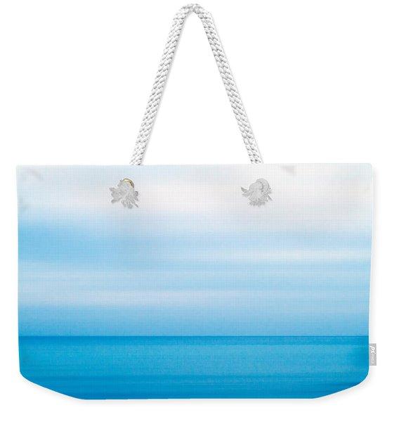 Blue Mediterranean Weekender Tote Bag