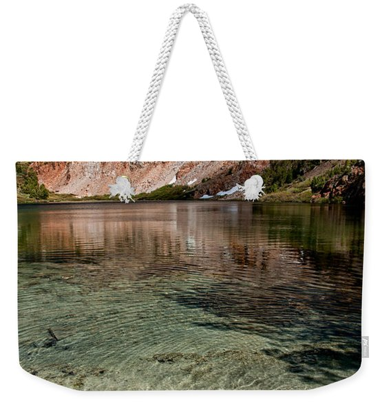 Bull Lake And Chocolate Peak Weekender Tote Bag
