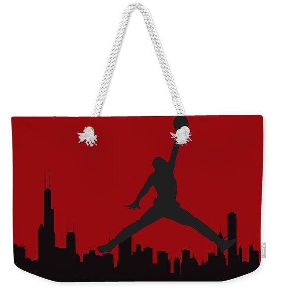 Chicago Bulls Weekender Tote Bag