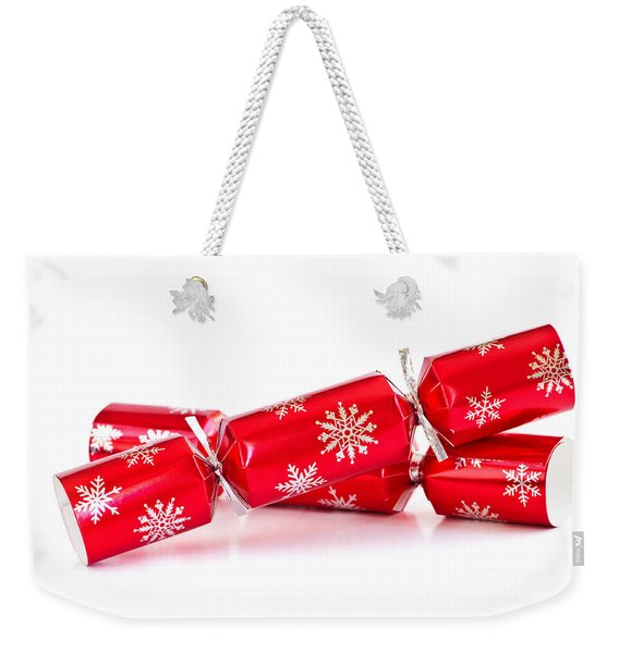 Christmas Crackers Weekender Tote Bag