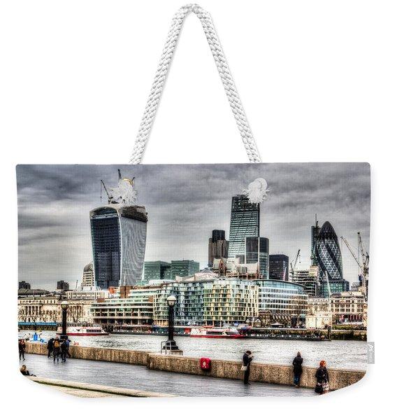 City Of London Weekender Tote Bag