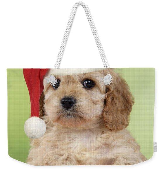 Cockapoo Puppy Dog Weekender Tote Bag
