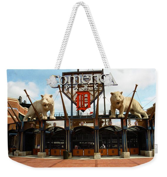 Comerica Park - Detroit Tigers Weekender Tote Bag