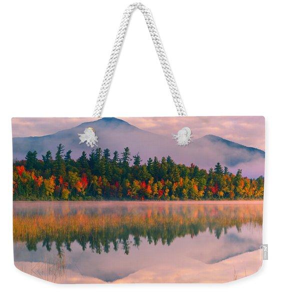 Connery Pond In Adirondack State Park Weekender Tote Bag