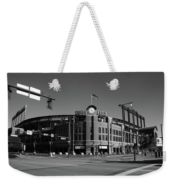 Coors Field - Colorado Rockies Weekender Tote Bag