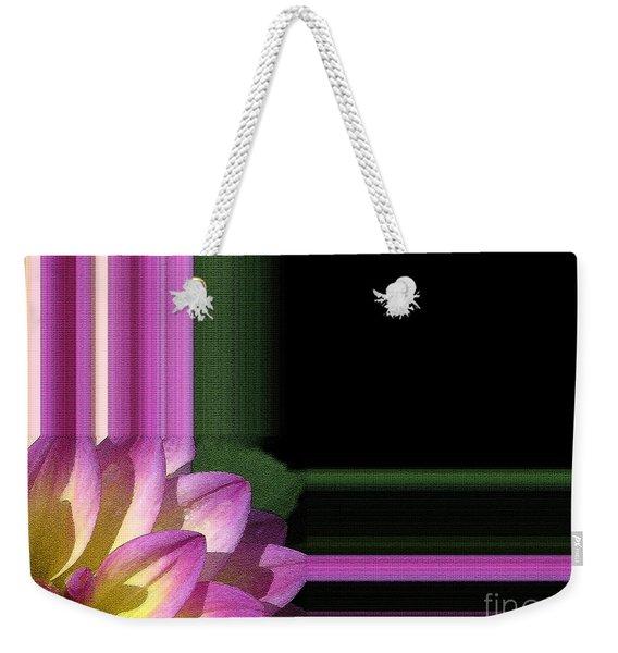 Dahlia Named Jowey Gipsy Weekender Tote Bag