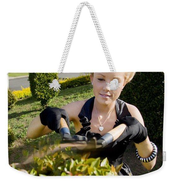 Gardener Weekender Tote Bag