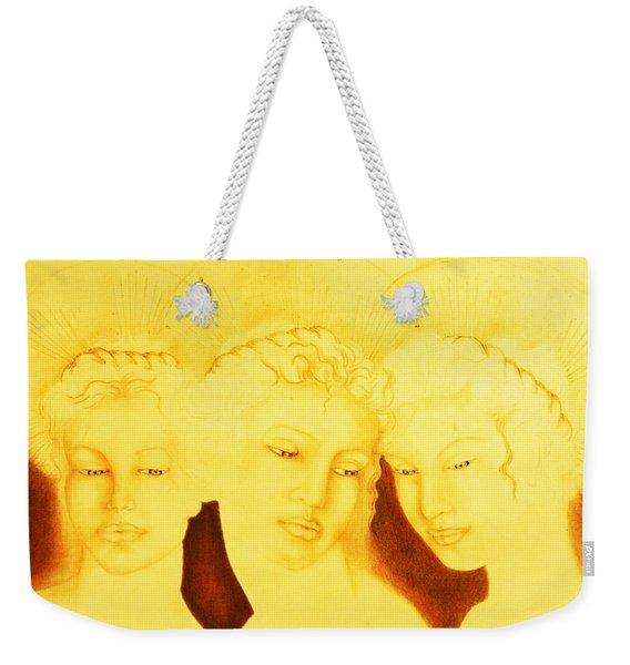 3 Graces Weekender Tote Bag