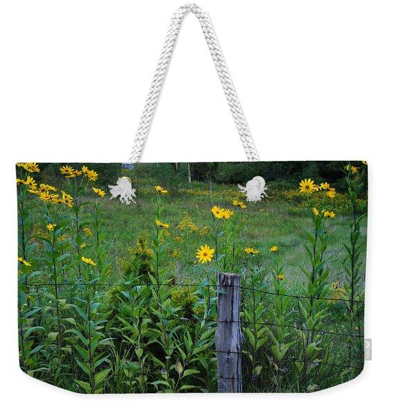 Green Acres Weekender Tote Bag