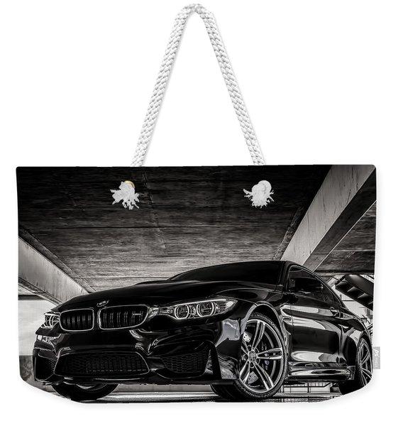 I Take Mine Black Weekender Tote Bag
