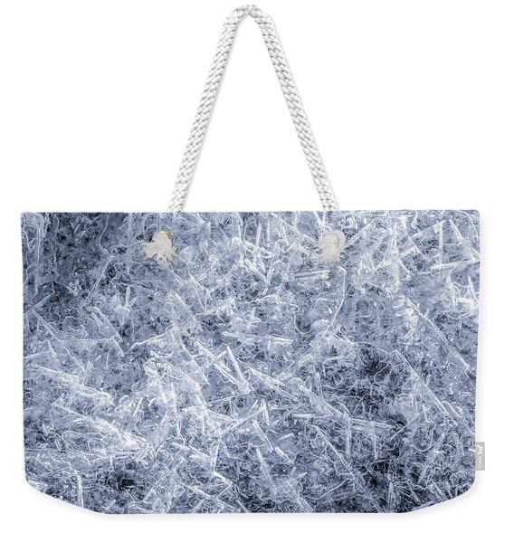 Ice On Minnehaha Creek 2 Weekender Tote Bag