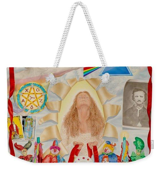 Invocation Of The Spectrum Weekender Tote Bag
